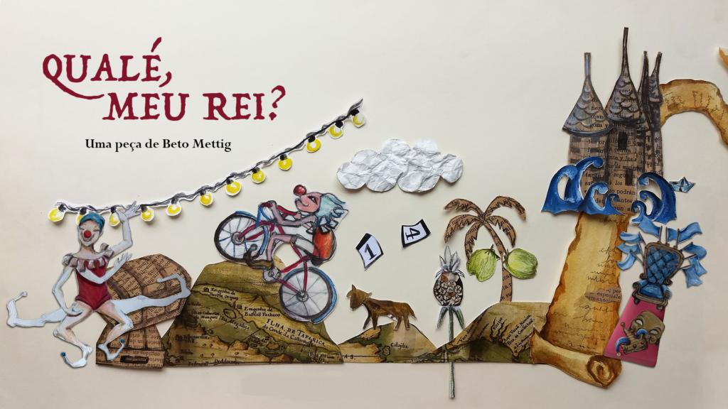 Ilustrações do e-book Qualé, meu Rei?
